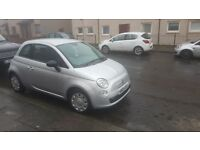 Fiat 500. 2009. Mot 02 August 2018. Tidy looking car. Just serviced. Runs pefect £30 a year tax .