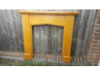 "Fire Surround 4ft wide x 44"" High first £5"