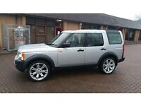 2008 LAND ROVER DISCOVERY 3 2.7 TDV6 HSE DIESEL - AUTO - 7 SEATER - SAT NAV - TV