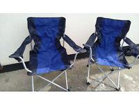Camping Chairs and Aluminium Camping table.