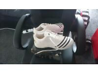 Addias Cricket Shoes ( White) Brand New