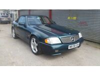 Mercedes SL 280 with service history very nice convertible