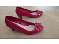 Pink Patent Size 6 shoes
