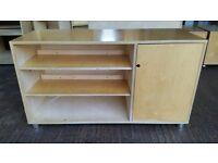 Solid Beech Veneer Office Sideboard / Storage #1