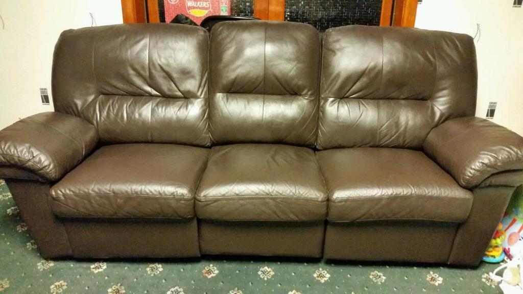 leather sofa in blackburn lancashire gumtree