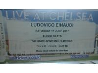 Ludovico Einaudi at Royal Hospital Chelsea 17th of June 17:30 - TICKETS