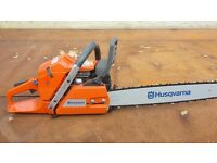 "*New* Husqvarna 365 x-torq 20"" bar"