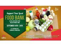 Foodbank Donation Week   Mon 18th - Sun 24th Sept 2017