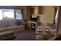 Caravan available to rent at 5 * Holiday park, Primrose Valley, Filey near Scarborough.