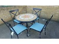 Large tile top Round table