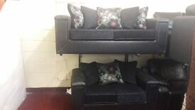 KANSAS BRAND NEW 3 SEATER £399 GET 2 SEATER FREE HAND MADE WITH FOAM SEATING AND SPRING BASE