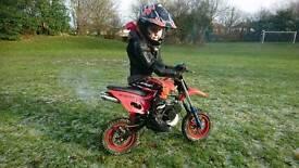 Kids motocross bike