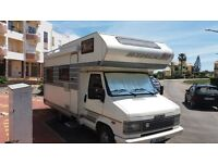hymer camp 59 1994 2.5 td 5berth 5 seat belts ,warm air heating caset toilet oven hob new fuel pump