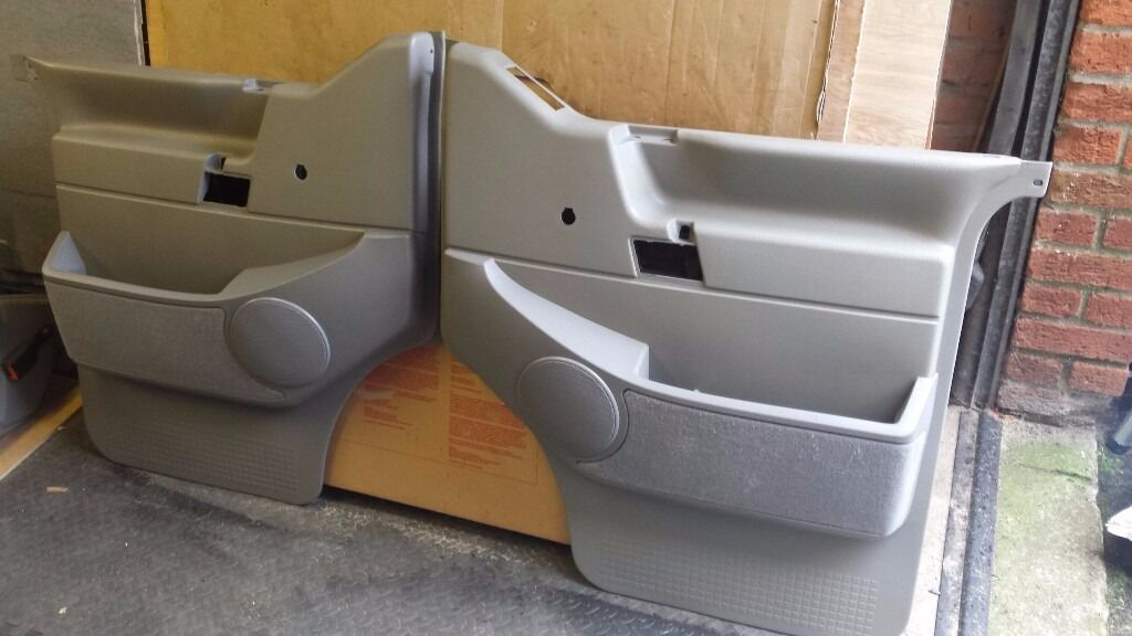 Pair Of Vw T4 Door Cards Amp Door Pockets Fit All Years