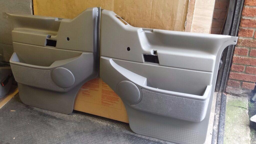 pair of vw t4 door cards door pockets fit all years models caravelle multivan. Black Bedroom Furniture Sets. Home Design Ideas