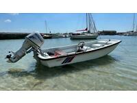 Dellquay dory 13ft with trailer Honda 30hp trim and tilt