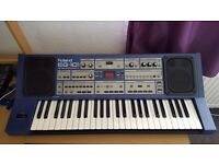 Roland EG-101 digital synthesizer + AC Adaptor + Midi cable + Microphone for the Sampler.