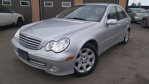 2005 Mercedes-Benz C-Class 4MATIC, LEATHER, LOADED