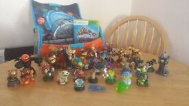 XBOX 360 SKYLANDER TRAP TEAM PLUS ACCESSORIES (ONLY50POUNDS)