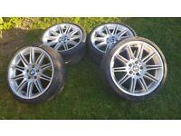 BMW 3 series M sport alloy wheels