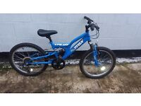 "child's full suspension mountain bike ""Yes i can deliver, most areas in Colchester only £5"""