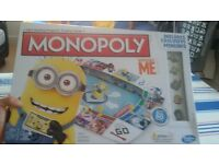 Never used Monopoly