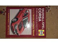 Vauxhall Corsa Haynes Manual Models 2003 - 2008)