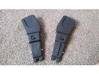 Mothercare Orb car seat adaptors. Collection from Cramlington.