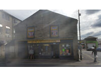 Retail Shop and Flat for sale in Picturesque Bacup in the idyllic Rossendale Valley
