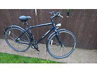 specialized globe elite lightweight 8 speed nexus hub geared hybrid cycle bike puncture proof tubes