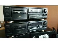 Aiwa AD-F450 cassette deck stereo