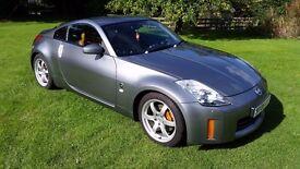 2006 NISSAN 350Z GT, 3.5 V6, 296 BHP, F/S/H, SAT NAV, LEATHER, BOSE STEREO, GREY