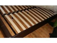 King Size Bed Base and Head Board - in a good Condition