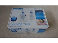 Philips Cordless phone set (2 handsets) with answering machine