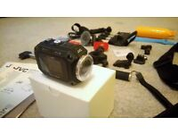 "JVC GC-XA1 BE sports / action camera GO ""PRO"""