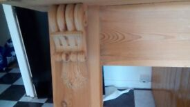 Pine fireplace. Lovely condition