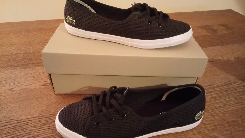 Lacoste Ziane Chunky trainers / pumps size 7 / worn once, perfect condition