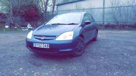 Honda Civic vtec 1.4s max fast and Good car very reliable audi a3 vw golf toyota yaris