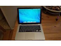 macbook pro mid 2009 4gb ram 256gb ssd dual os mac and windows new battary