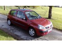 Renault clio 1.2 2004 AUTOMATIC 32,000 MILES! FULL SERVICE HISTORY