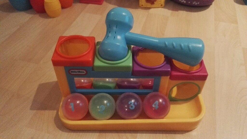 Little Tikes Hammer & Ball set