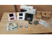 Job Lot of 3 Nintendo DS Consoles and Games...