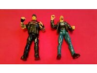 WWE / WWF The Undertaker & Stone Cold Wrestling Action Figure