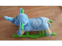 Elephant Rocker For Kids, Toddler with Sound
