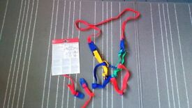 Reins harness from birth to 4 years
