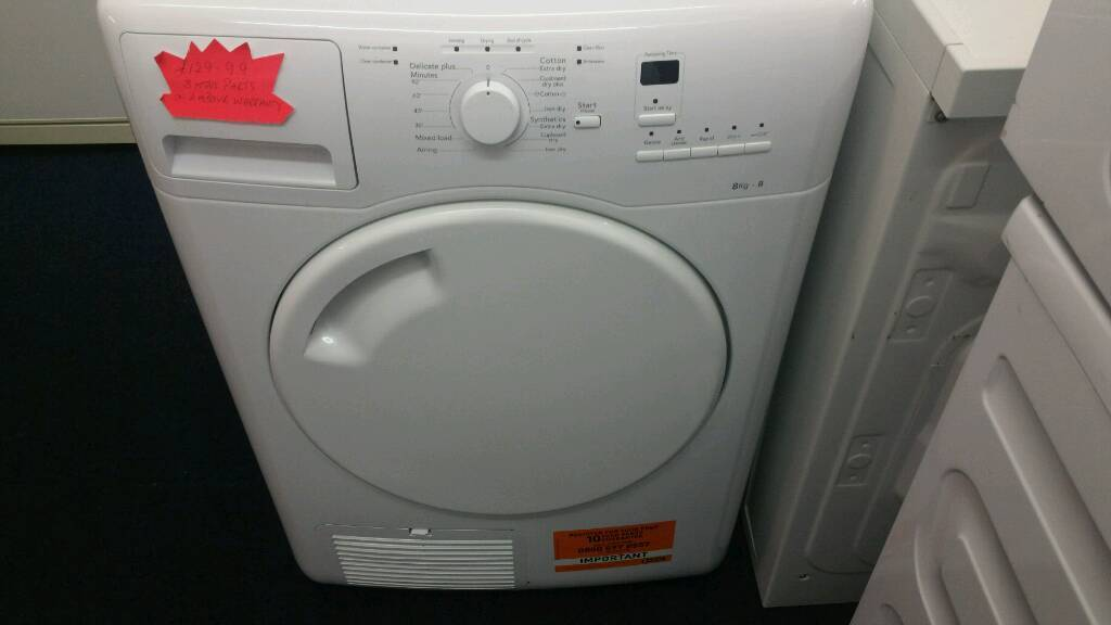 Hotpoint 8kg tumble dryer for sale. Free local delivery