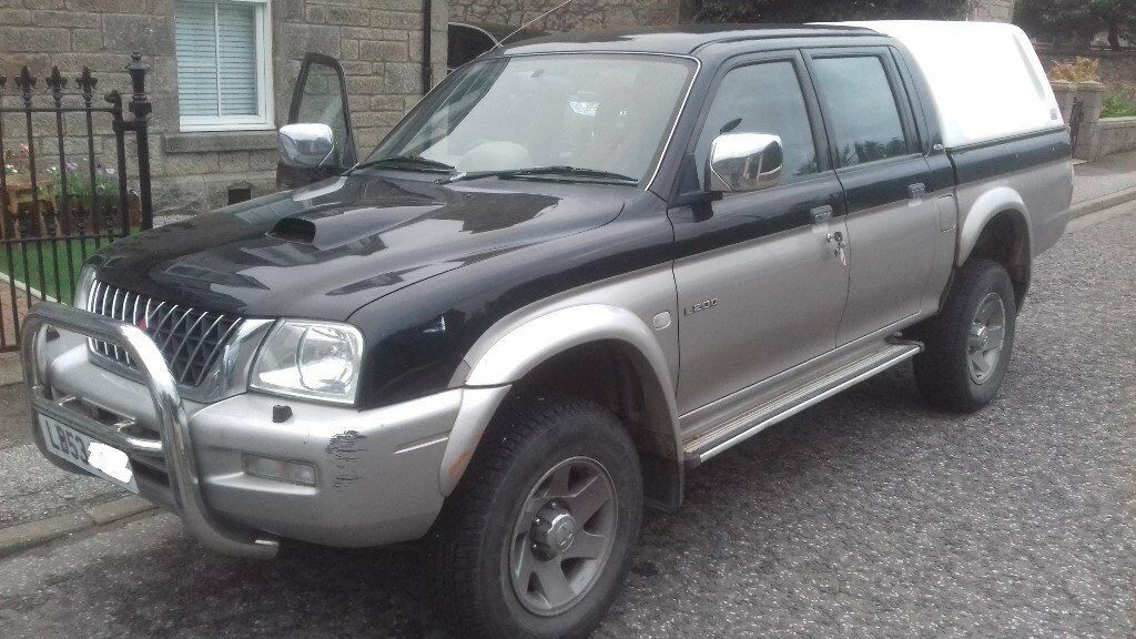 Mitsubishi L200 double cab 53 plate Spares or repair cylinder head gone