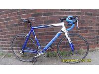 VIKING MILANO 14 SPEED RACING BIKE LIGHTWEIGHT 23in/58cm ALLOY FRAME CLEAN BIKE