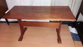 Solid Mahogany Hand Crafted Coffee Table, PENNINE EAGLE WOODCRAFT.