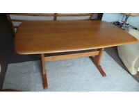 ERCOL WINDSOR BLONDE DINING TABLE IN LOVELY CONDITION